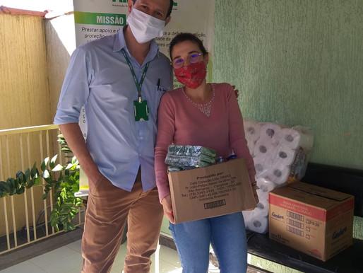 Atibaia – ABRAPEC agradece as doações de verduras e legumes.