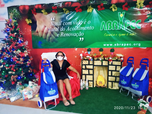 Taguatinga – ABRAPEC dá inicio a entrega das cestas natalinas.