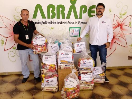 Cardoso Foundation realizou a doação de 10 cestas básicas para a Unidade da ABRAPEC em Taguatinga/DF
