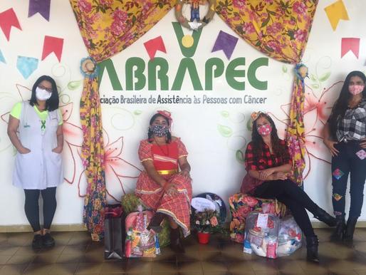 Taguatinga – ABRAPEC realizou a entrega de Kits Juninos.