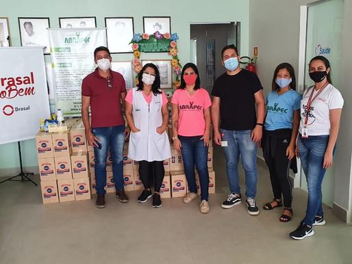 Taguatinga – Responsabilidade Social, Brasal realizou doação de Fraldas e Kits de Higiene.