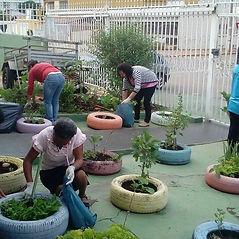 Projeto horta e arte ABRAPEC