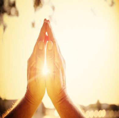 Uma oração pra você...