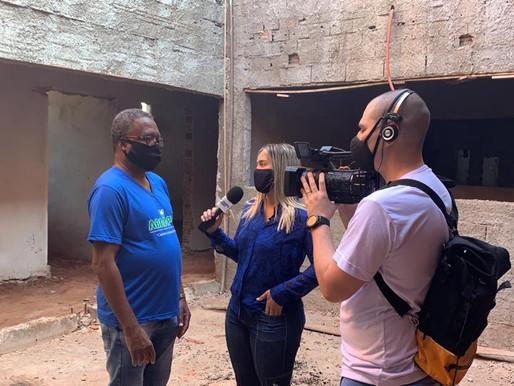Ribeirão Preto – Thathi TV realiza materia focando a construção da primeira sede própria da ABRAPEC.