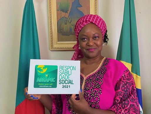 Taguatinga – Grupo dos Conjugues dos Embaixadores Africano e Chefes de Missão da África (GCEA)...