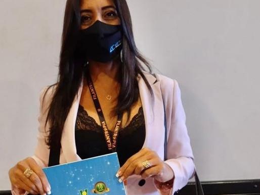 """FIFE 2021 – """"ABRAPEC consegue concretizar os ideias do Terceiro Setor."""" Relata Ana Claudia Simões."""