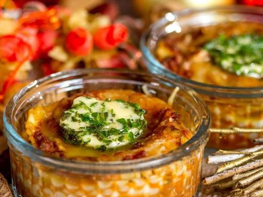 Mini lasanha com Vegetais e Carne