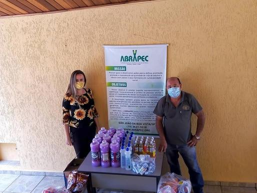 São João da Boa Vista - Fundação Curimbaba realizou doação para a ABRAPEC