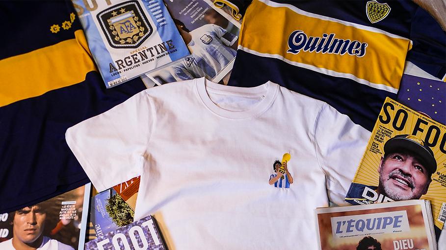 diez maradona football globe trotters.pn