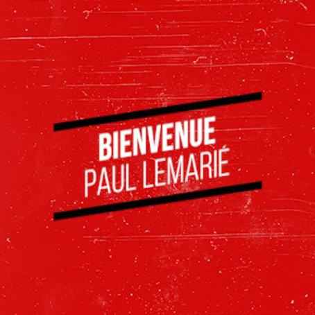 Bienvenue à Paul Lemarié !