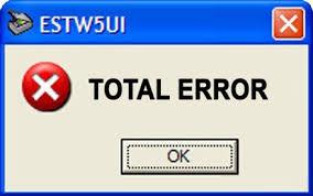 Estimacion del Error Total, basado en ????