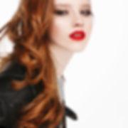 Bright Red Lipstick