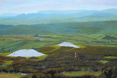 Giclee print of Carrowkeel