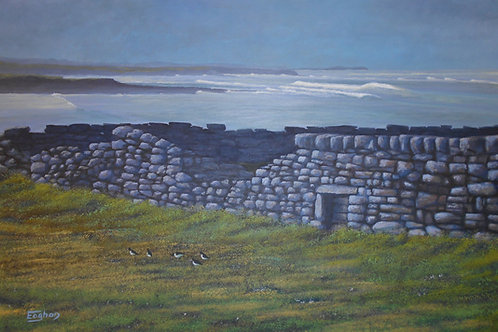 Giclee Print of Streedagh Looking West