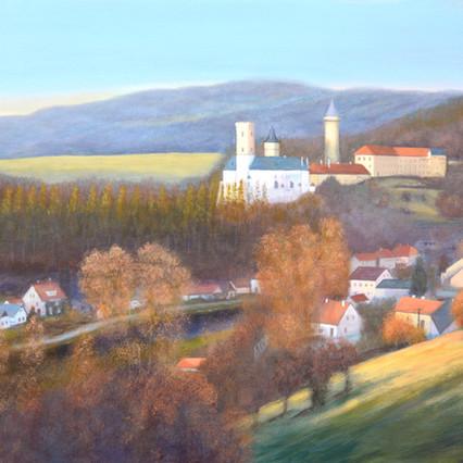 Rozmberk, Czech landscape painting