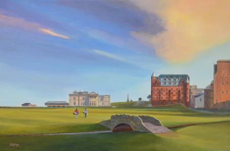 Saint Andrews, 18th. landscape painting
