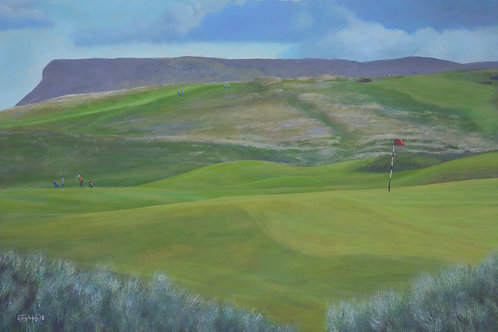 Giclee Print of 3rd Hole, Co. Sligo