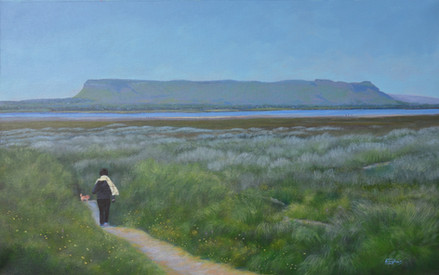 Lower Rosses, Sligo landscape painting