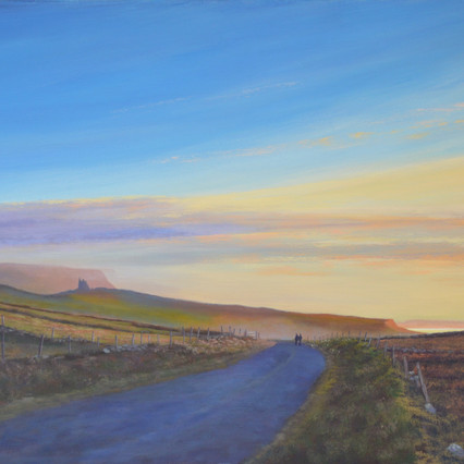 Classiebaun, Sligo landscape painting