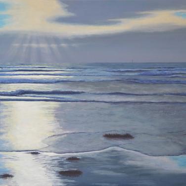Rosses Evening Tide, Sligo coast painting