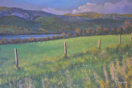 Glencar valley, Sligo landscape painting