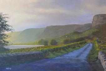 Landscape painting Sligo, EoghanArt,Glencar road final.JPG