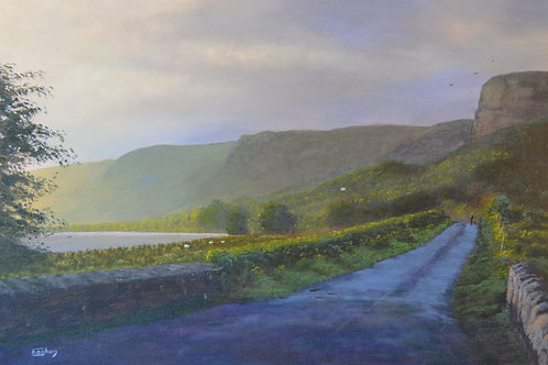 Giclee Print of Glencar Road