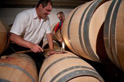 X David-Beaulieu in his Winery