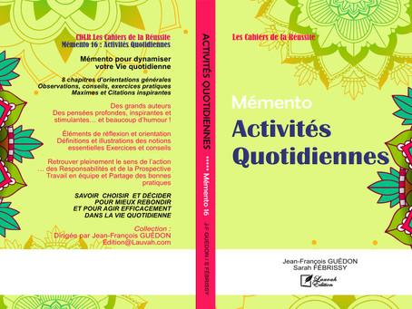 (16) Mémento ACTIVITES QUOTIDIENNES
