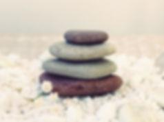 Una torre de piedras