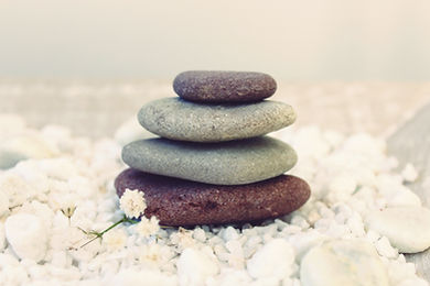 Zen stacking stones