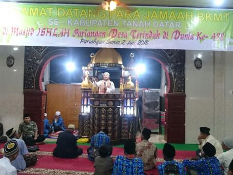 Meriahkan Malam di Masjid Islah Pariangan Sumatera Barat