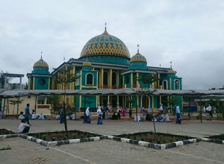 Tabligh Akbar di Masjid Agung Si Jung Juang