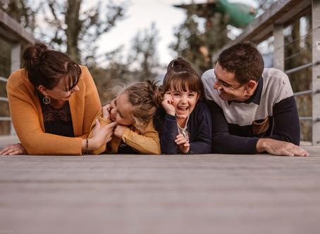 Une séance famille à Center Parc Bois aux daims