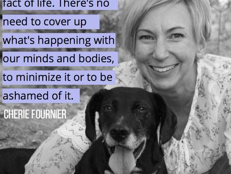 Elektra #MenopauseMonday Spotlight: Cherie Fournier