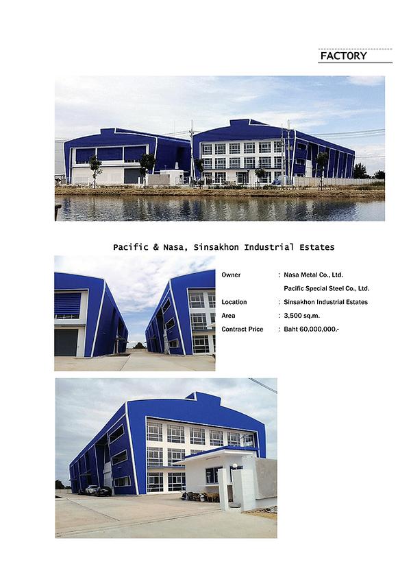 Pacific & Nasa, Sinsakhon Industrial Est