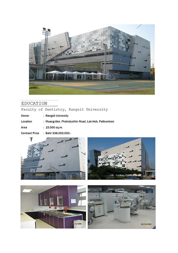 Faculty of Dentistry, Rangsit University