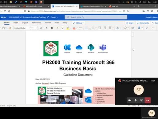 PH2000 Staff Training: Microsoft 365 Business Basic