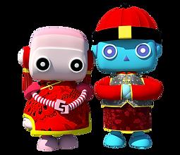 Lebao&Pinky-CNY Greeting