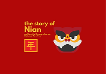 Story of Nian (Make your own flashcards included)