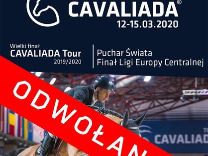 Cavaliada Warszawa Odwołana!