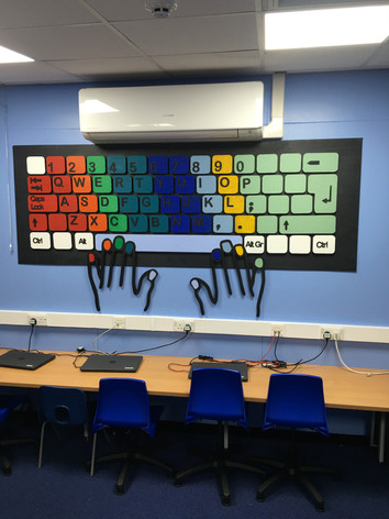 Giant Interactive Keyboard