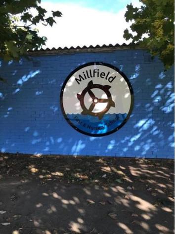 Acrylic Large Wall Logo