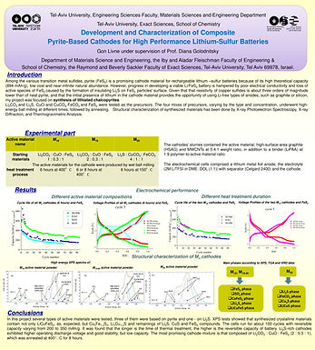 Development and Characterization of Composite Pyrite-based Cathodes for high Performance Lithium Sulfur Batteries