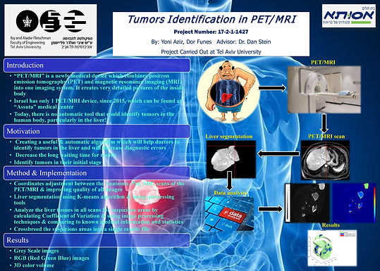 Tumors Identification in PET/MRI