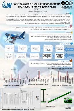 אנליזות ואופטימיזציה לקורות רצפה בפרויקט הסבה למטען של מטוס B777-300ER