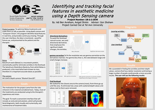Identifying and tracking facial features in aesthetic medicine using a Depth Sensing camera