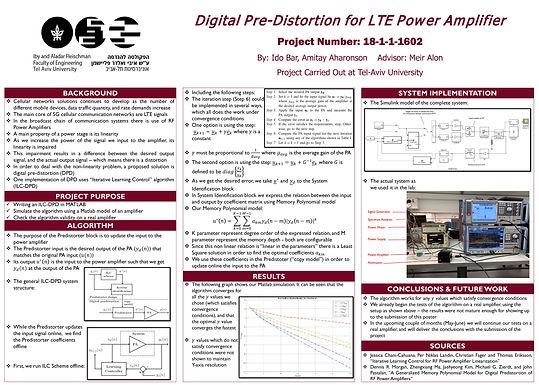 Digital Pre-Distortion for LTE Power Amplifier