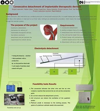 ניתוק רצוף של מכשירים טיפוליים הניתנים להשתלה