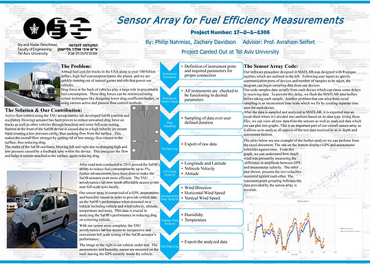 Sensor Array for Fuel Efficiency Measurements
